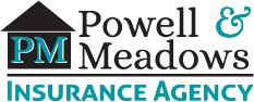 Powell & Meadows Insurance Agency Logo